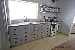kitchens furniture white farmhouse style kitchen island for alaska lake cabin diy projects