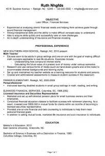 Loss Prevention Resume Objective by Resume Exle Bank Loan Officer Resume Sle Loan Officer Resume Cover Letter Loan Officer