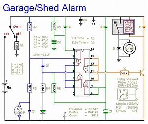 Automatic Garage    Shed Alarm