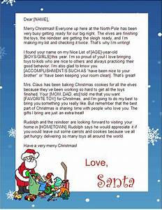 best 25 santa letter ideas on pinterest letter With authentic santa letter