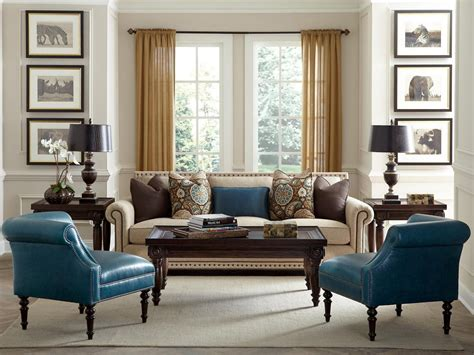 transitional living room leather sofa photos hgtv