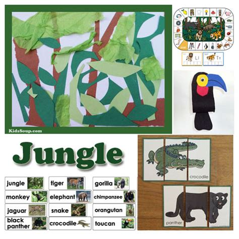 in the jungle preschool lesson plans and activities 112 | Jungle preschool activities 0