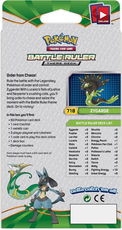 Theme Deck by Fates Collide Battle Ruler Theme Deck Back Uk Pok 233 Mon News