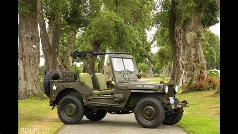 willys army jeep willys m38 military jeep