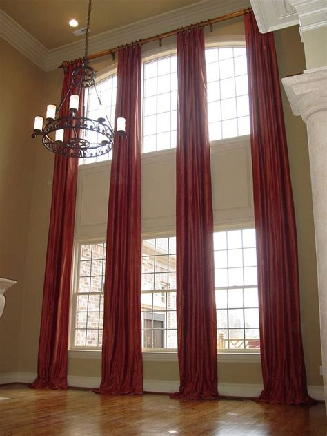 drapery design forstory interior decoration 2 story living room curtains match for our windows