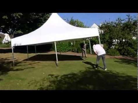 montage tente de r 233 ception furnitrade 5x5 m