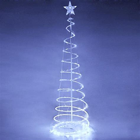 yescom led spiral tree light indoor outdoor yard