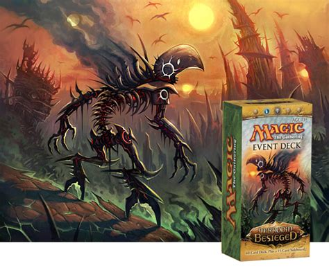 Infect Deck Mtg Legacy by Evolving Event Decks Infect And Defile Magic The Gathering