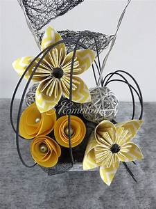 Fleur De Papier : composition florale fleurs kusudama en papier origami ~ Farleysfitness.com Idées de Décoration