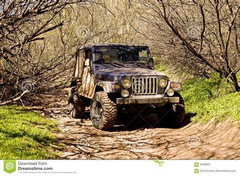muddy jeep muddy jeep stock photography image 5448922
