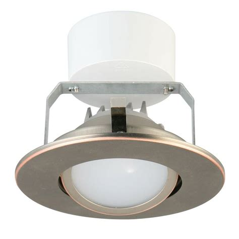bronze led recessed lighting lithonia lighting 4 in oil rubbed bronze recessed gimbal