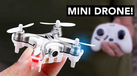 mini drone quadcopter  camera night vision unboxing review youtube