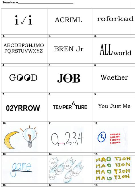 The game has more than 600 levels with crosswords for every taste. Answer Pdf Dingbats With Answers Uk - Gamers Smart