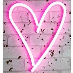 Light-Up Heart Sign