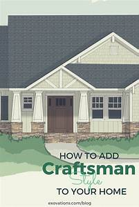 How to Add Craftsman Style to Your Home's Exterior ...