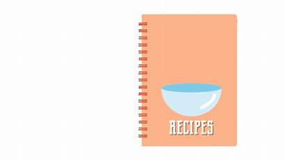 Recipe Notebook Journal Own Create Stationery Recipes
