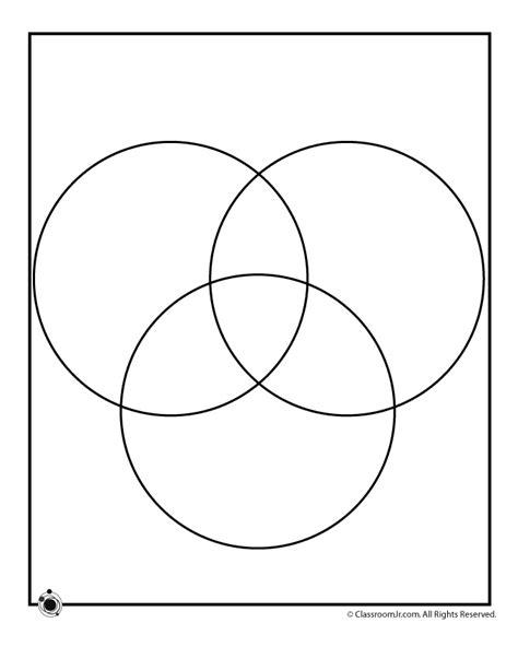 circle venn diagram template woo jr kids activities