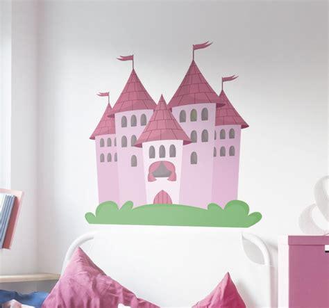 Wandtattoo Schloss Mädchen Tenstickers
