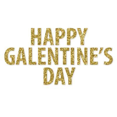 Happy Galentine's Day Banner in 2020 | Happy galentines ...