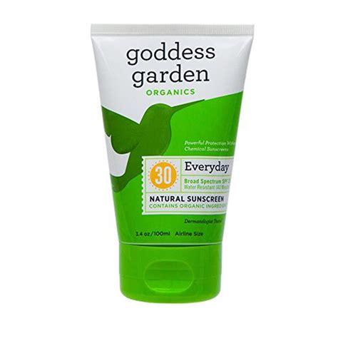 goddess garden sunscreen goddess garden everyday spf 30 sunscreen rank