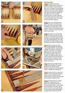 Backgammon Board Plans • WoodArchivist