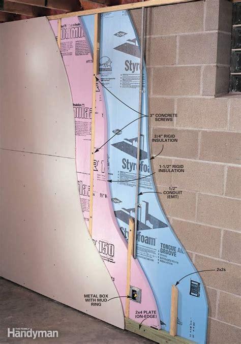 insulation     insulate  basement wall