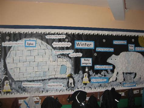 winter   south pole classroom display photo  anne