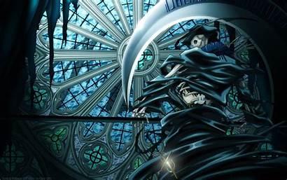 Ghost Anime Cool Frau Wallpapers Reaper Badass