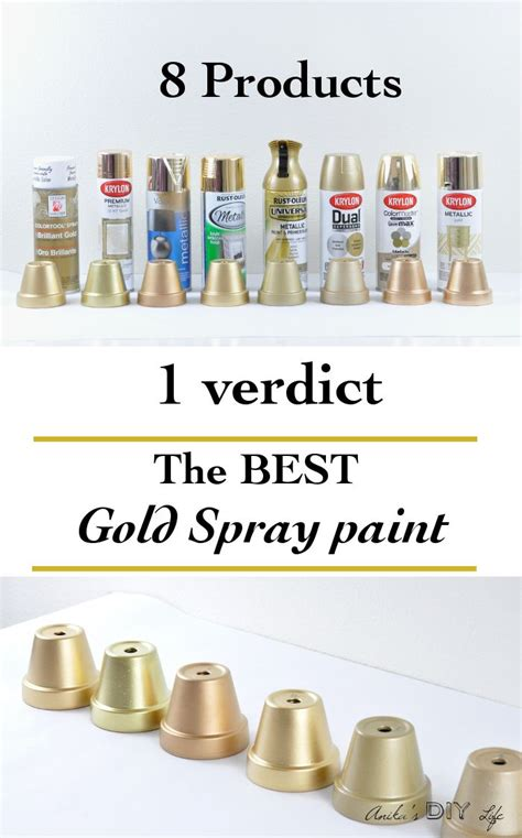 looking for the best gold spray paint diy tutorials