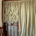 Elegant Lace Sheer Balloon Curtains Luxury Embroidered ...