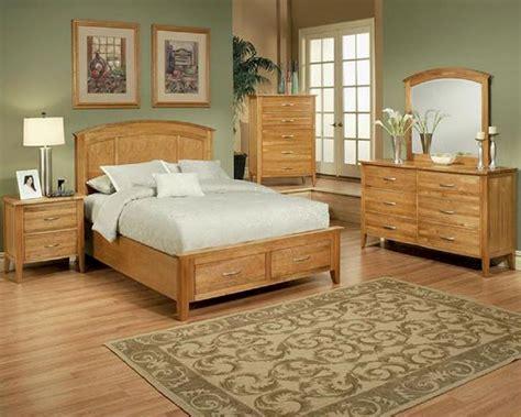 bedroom set  light oak finish firefly county  ayca ay