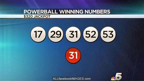 latest powerball winning numbers powerball