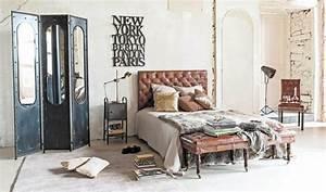 Chambre Deco Industrielle : chambre style industriel en 36 id es de chic brut authentique ~ Zukunftsfamilie.com Idées de Décoration