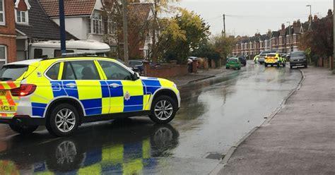 armed police descend