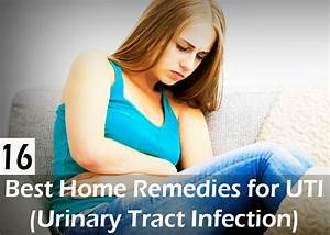 Top 16 Best Home Remedies For Uti  Urinary Tract Infection