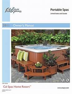 Cal Spas Ltr20101000 Hot Tub User Manual