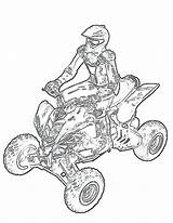 Quad Coloring Pages Transportation Atv Printable Getcolorings Print sketch template