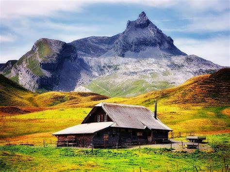 fond ecran chalet montagne chalet de montagne paysage hd fond d 233 cran 1152x864 t 233 l 233 chargement 10wallpaper