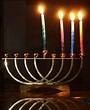 Third night Chanukah menorah | Menorah, Hanukkah menorah ...