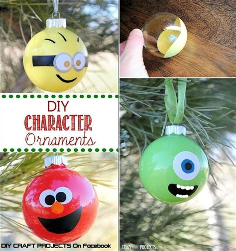 character ornaments step  step diy tutorial