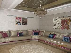 salon marocain salon mar pinterest living rooms With tapis oriental avec le corner canapé scandi