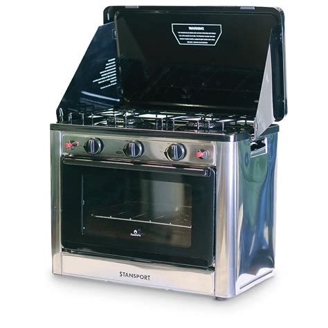 stansport outdoor propane gas stove and c oven