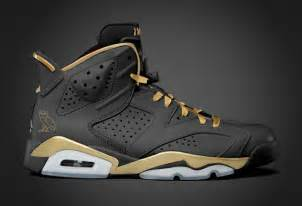 Drake OVO Black Gold Air Jordan 6