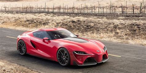 Bmw-toyota Sports Car Collaboration Starts Production In 2018