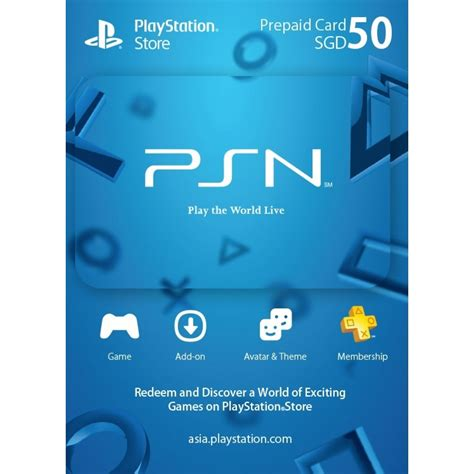 With a playstation store gift card, you can either add funds to your psn account or make instant purchases at the ps store without using any credit cards. PSN Card 50 SGD | Playstation Network Singapore digital