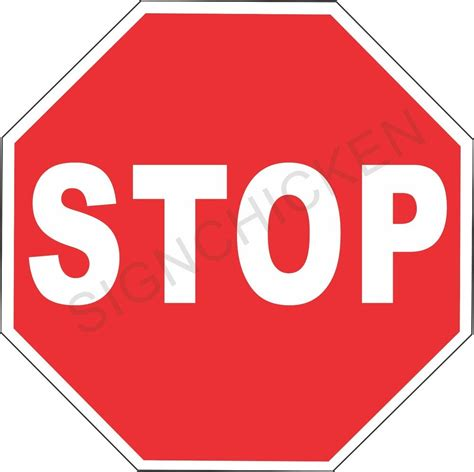 öl verlust stop stop sign new aluminum sign 12 quot x 12 quot road and