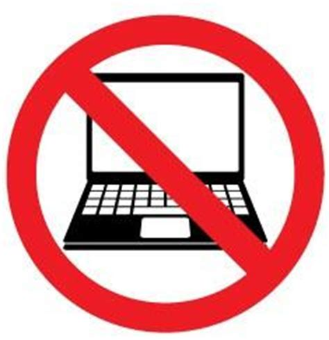 No computers allowed – Instickate