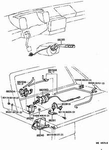 1986 Toyota Mr2 Switch  Cruise Control  Electrical  Drive