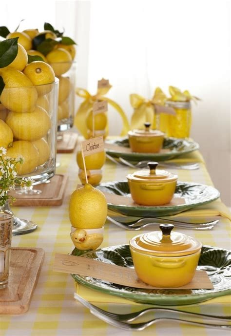 Lemon Decorations For Kitchen - 138 best decorating with lemons images on
