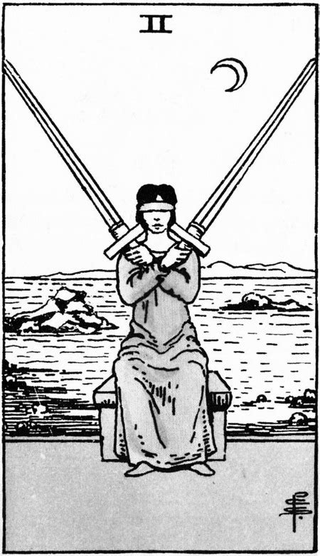 Two of Swords Art and Meaning: Queen of Tarot